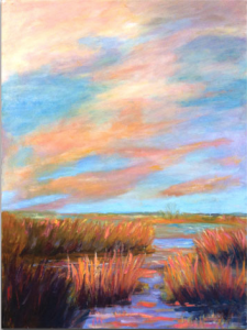 Marsh sunrise